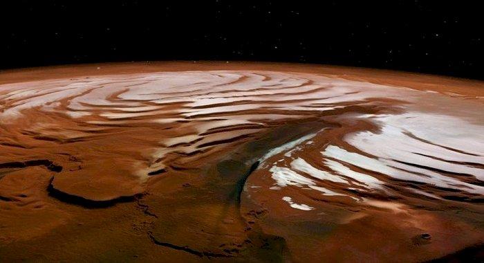 Descoperire importantă. Lacuri subterane cu apă lichidă, detectate pe Marte