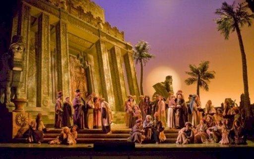 Una din cele mai dramatice scene biblice, ilustrata intr-un mozaic vechi de 1.500 de ani
