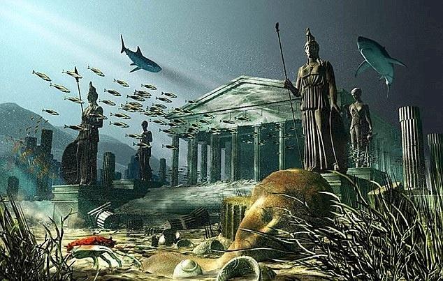 Un cristal imens a distrus vechiul continent al Atlantidei?