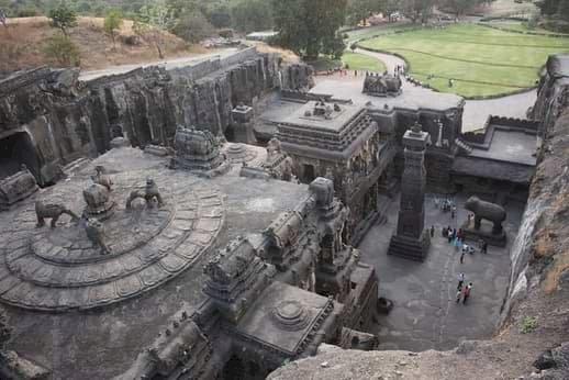 Templul Kailasa, construit cu o tehnologie necunoscută?