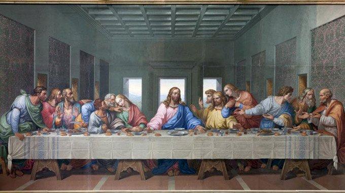 """A transmis Leonardo da Vinci un mesaj secret în pictura """"Cina cea de taină ?"""