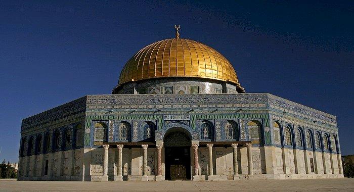 Moscheea lui Omar (Cupola Stancii) – unul dintre cele mai importante monumente musulmane